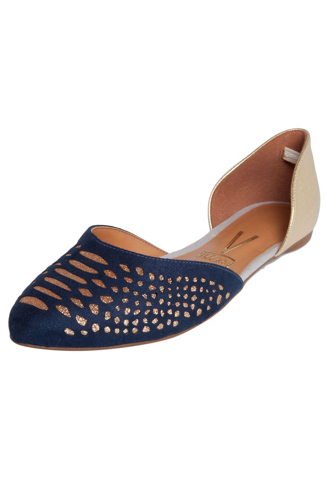 f0189756d4 Sapatilha Vizzano Glitter Azul - Marca Vizzano