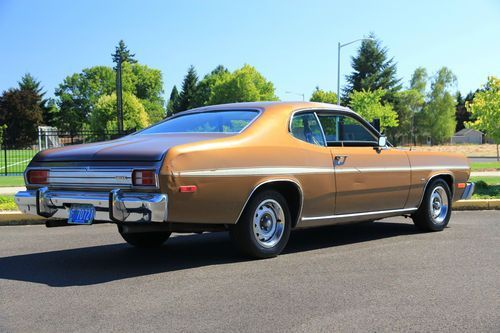 1975 Duster Purchase Used 1975 Plymouth Duster Custom Coupe 2 Door 3 7l In Newberg Plymouth Duster Plymouth Plymouth Cars
