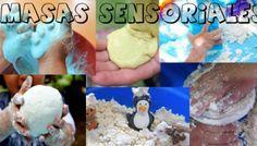 Super divertidas masas sensoriales para jugar y divertirse en casa con los más pequeños