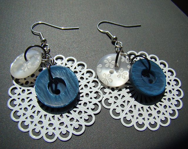 Earrings by BeyondSweetPhotos, via Flickr