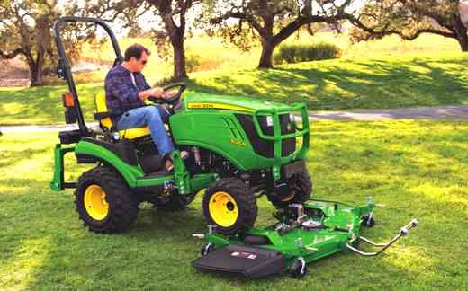 John Deere 1025r Mower Deck For Problems Backhoe Weight