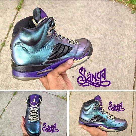 Custom Outrageous Jordan 5s