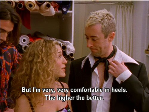 7 Carrie Bradshaw quot;s About Fashion That Prove Sex And The 30