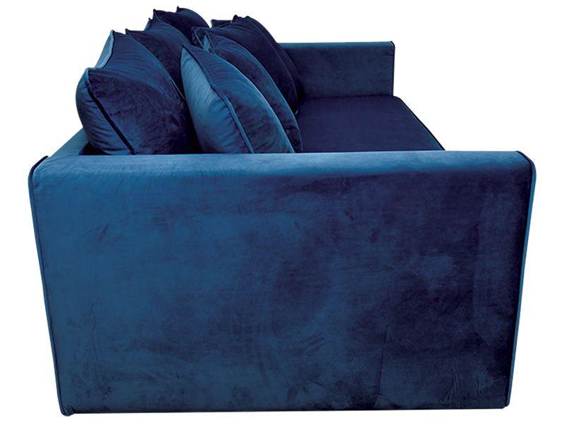 Big Sofa Velluto Samt Stoff Blau 291630 Blaues Samtsofa Blaues