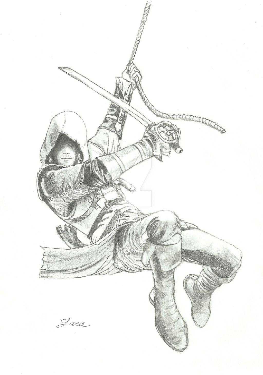 Dessin Assassin S Creed