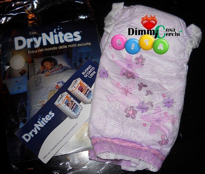 #drynites #freesample #sample #dimmicosacerchi #infanzia #bambini #pannolini #campionegrauito #gratuito #freeebie