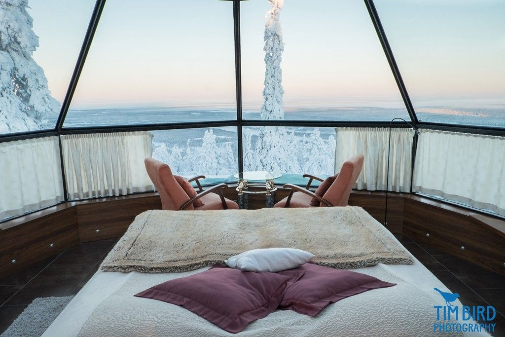 LUXURY GLASS IGLOOS CLOSE TO KITTILÄ ARE AN EXOTIC ACCOMMODATION OPTION