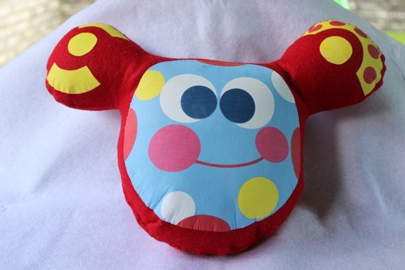 stuffed toy Toodles toy Toodles inspired plush
