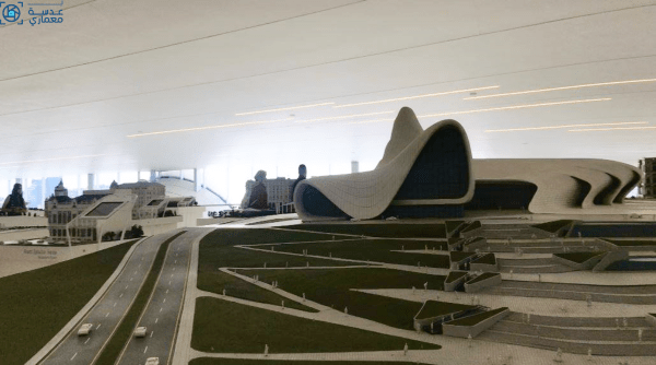 مركز حيدر علييف تحفة معمارية من إبداع زها حديد بـ عدسة معمارى Fighter Jets Fighter