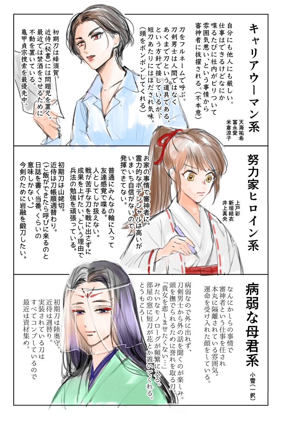 Twitter アカギ 審神者 岡田将生