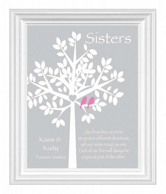 Wedding Gift For Sister Ideas: Sister Gift Personalized Gift For Sister By