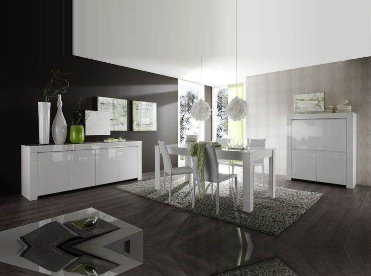 LC Mobili Dining Table Amalfi White 3706 - $57500 dining room