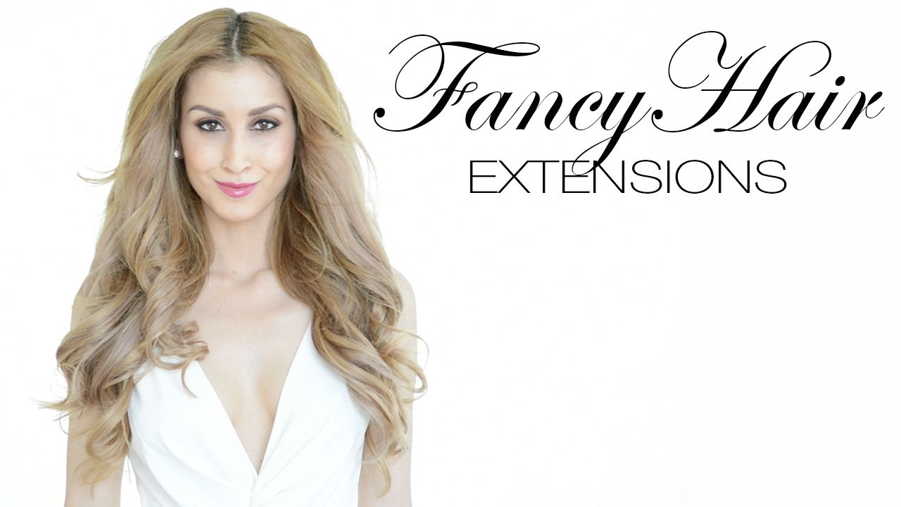 Watch The Video On Why Fancy Hair Extensions Are The Best Clip In