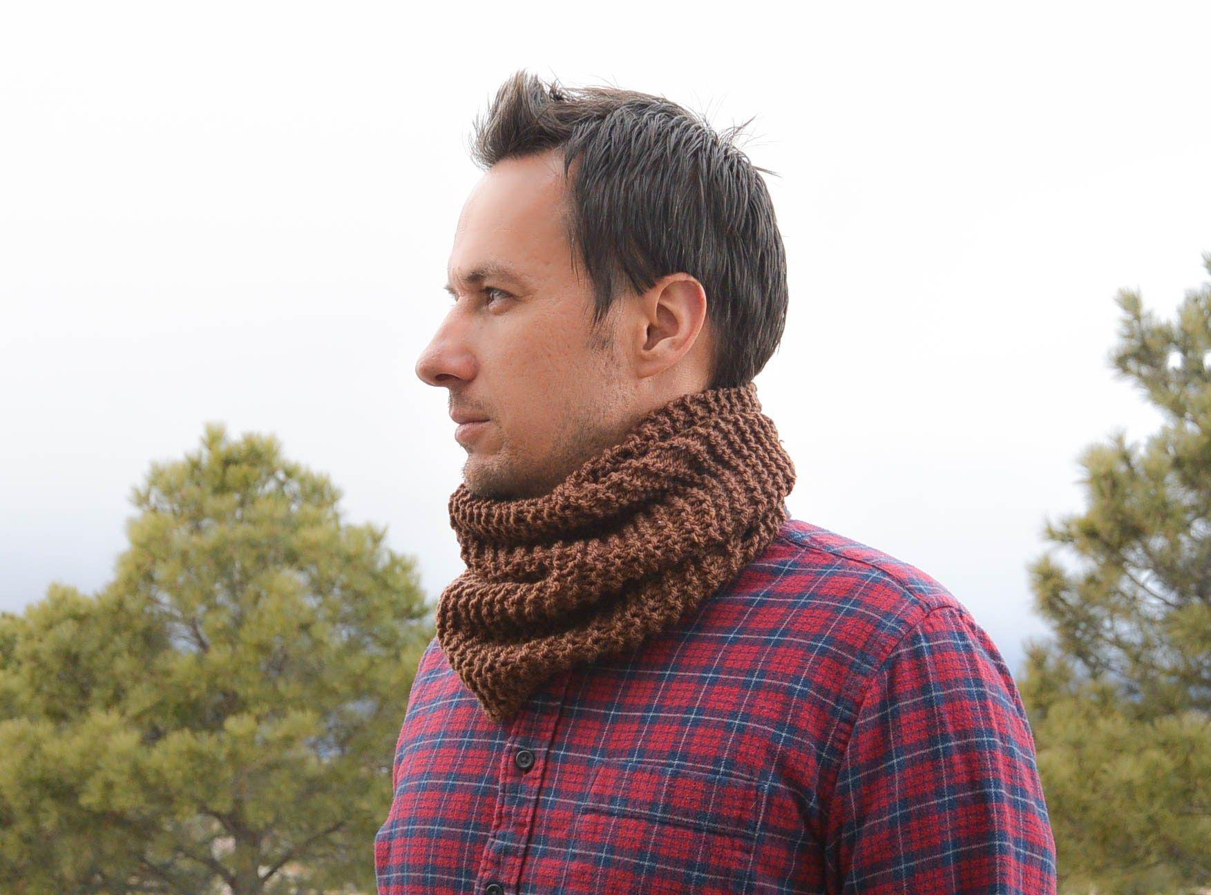 Mens Knit Cowl Easy Free Pattern | Knitting & crochet inspirations ...