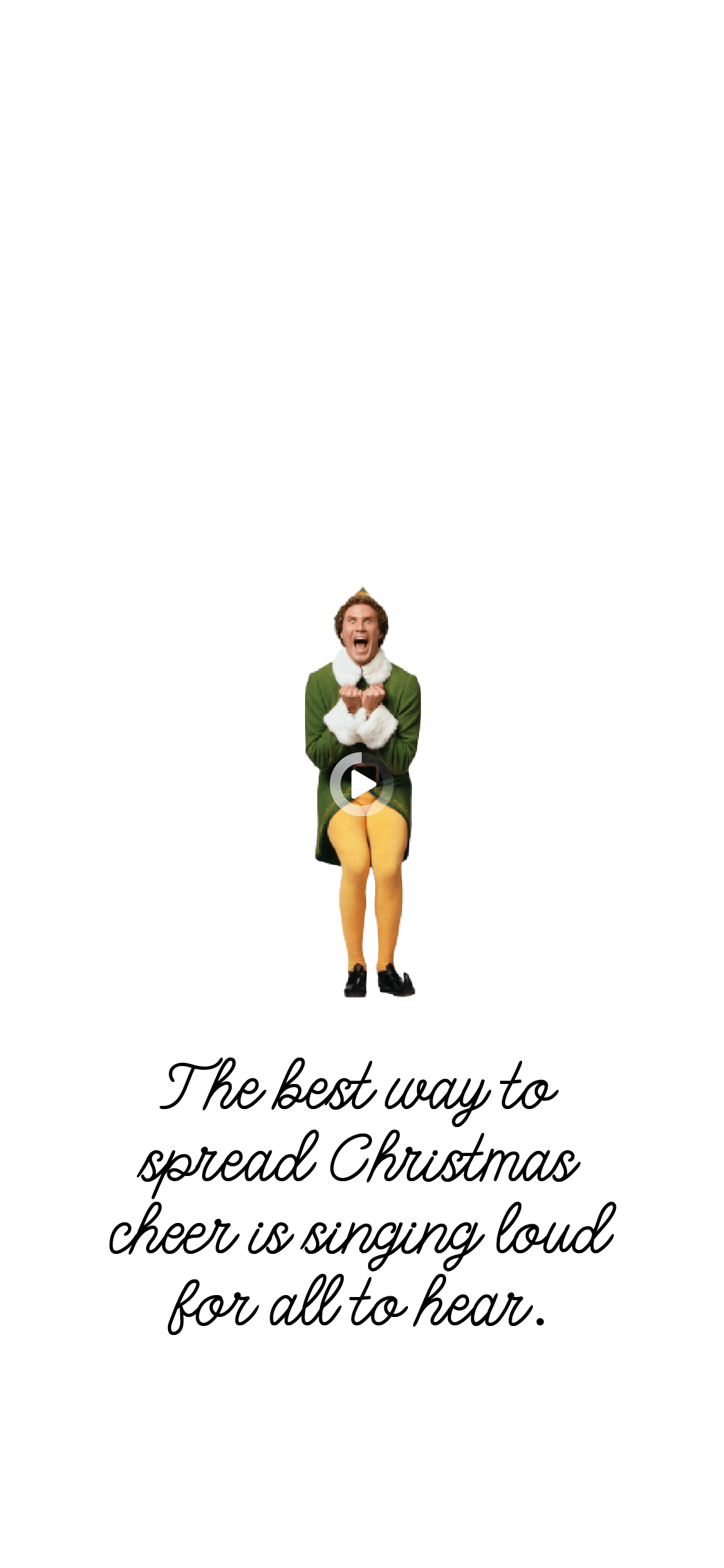 Elf Themed Iphone Wallpapers Ginger And Ivory In 2021 Funny Christmas Wallpaper Wallpaper Iphone Christmas Cute Christmas Wallpaper