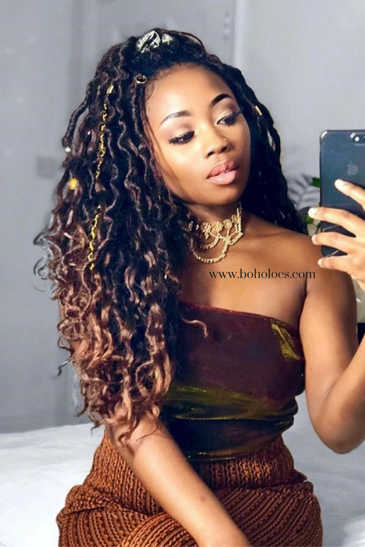 Bronde Boho Mermaid Locs 174 In 2019 Hair Natural Hair