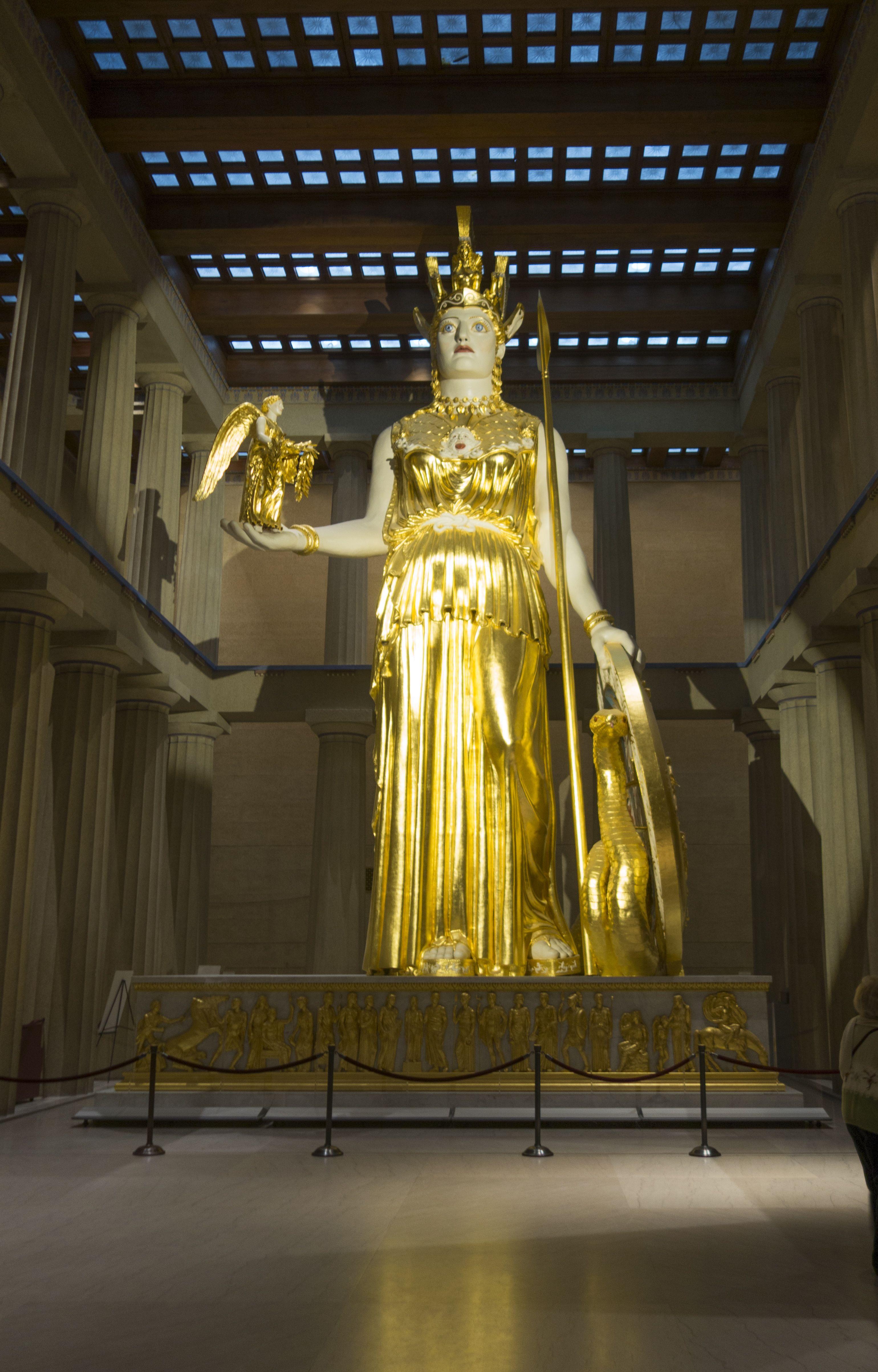Athena statue percy jackson