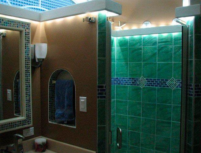 Image result for shower lights led | Bath | Pinterest | Light led ...