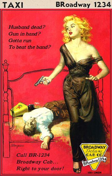 Husband Dead? Gun in Hand?