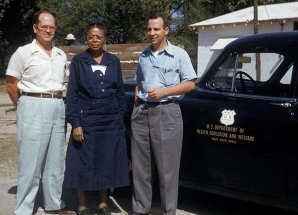 Responsible for participation in Tuskegee Syphilis Study