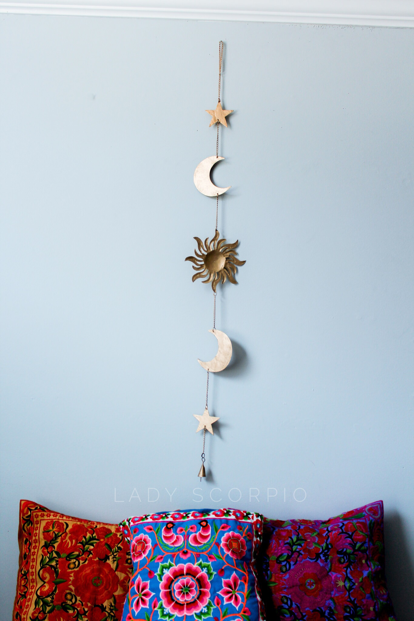 Celestial wall hanging tapestry bedroom star - Wall hangings for bedroom ...