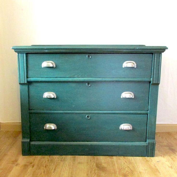 Emerald eastlake dresser vintage antique chest of