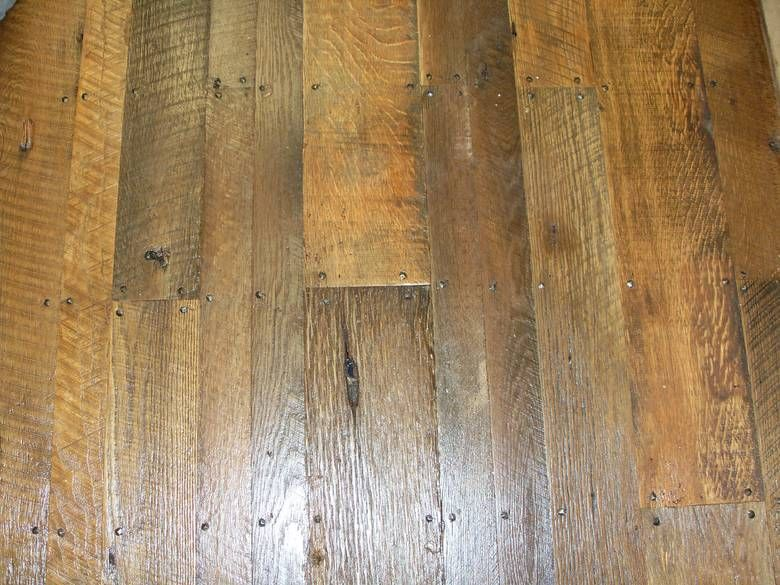 As Is Oak Shiplap Face Nailed This Floor Was Sanded To