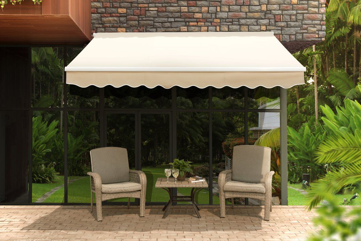Classic 10 Ft W X 9 Ft D Patio Awning Pergola Architettura Contemporanea Architettura