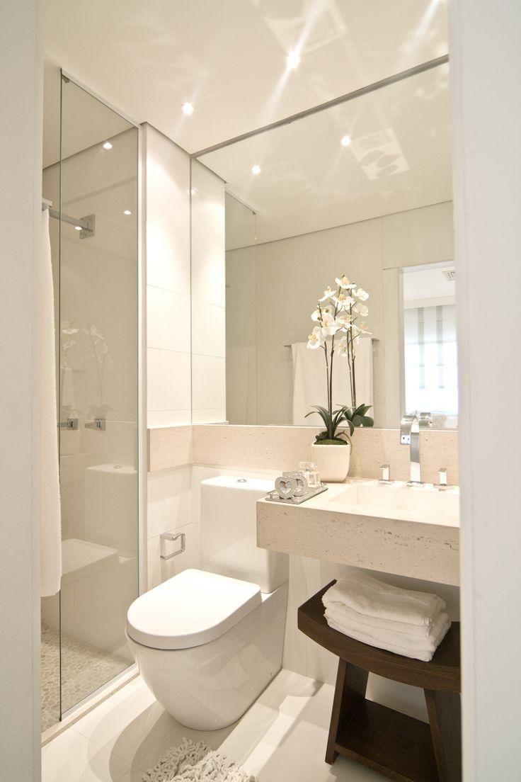 Como decorar banheiro pequeno: 20 idéias infalíveis pra você arrasar ...
