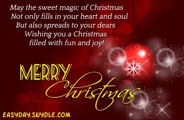 Top Christmas Wishes Messages and Greetings | Christmas quotes ...