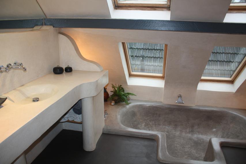 Badkamer-tadelakt-en-beton-cire-toldijk-8.png (854×569) | badkamer ...