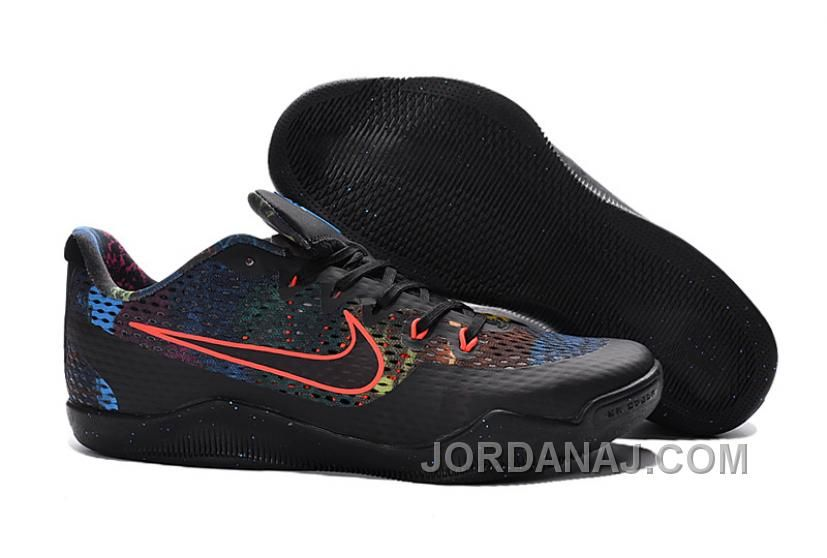 http://www.jordanaj.com/nike-kobe-11-black-colorful-basketball-shoes-lastest.html NIKE KOBE 11 BLACK COLORFUL BASKETBALL SHOES FREE SHIPPING Only $99.00 , Free Shipping!