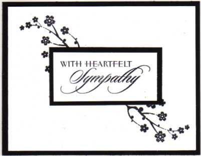 Wings of Sympathy - Visible Image stamps Visible Image Card - condolence template