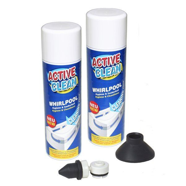 Jetted Tub Hygienic Cleaner Biofilm Remover Active Clean Duo
