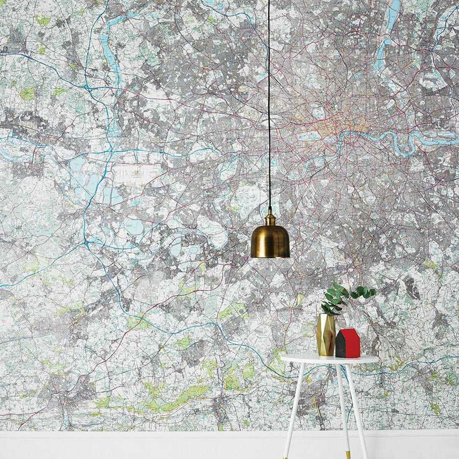 Are You Interested In Our Personalised Map Wallpaper Uk With Postcode Os Need Look No Further