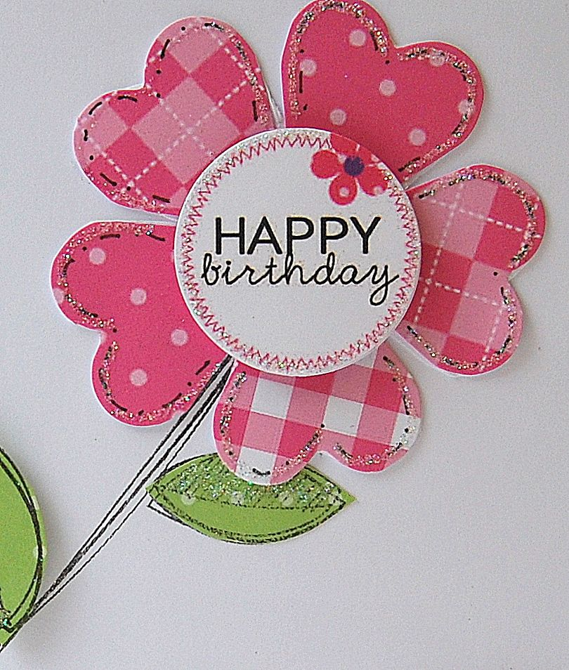 Kath's Blog......diary of the everyday life of a crafter: Fruit Scoop--sweet flower