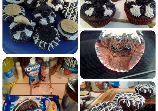 Easy Oreo cupcakes Recipe -  Are you ready to cook? Let's try to make Easy Oreo cupcakes in your home!