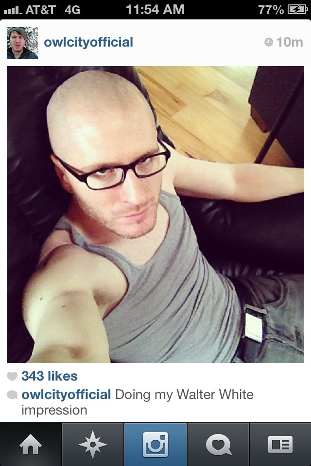 Bald Adam Anyone Else Been Singing The Song Rugs From Me To