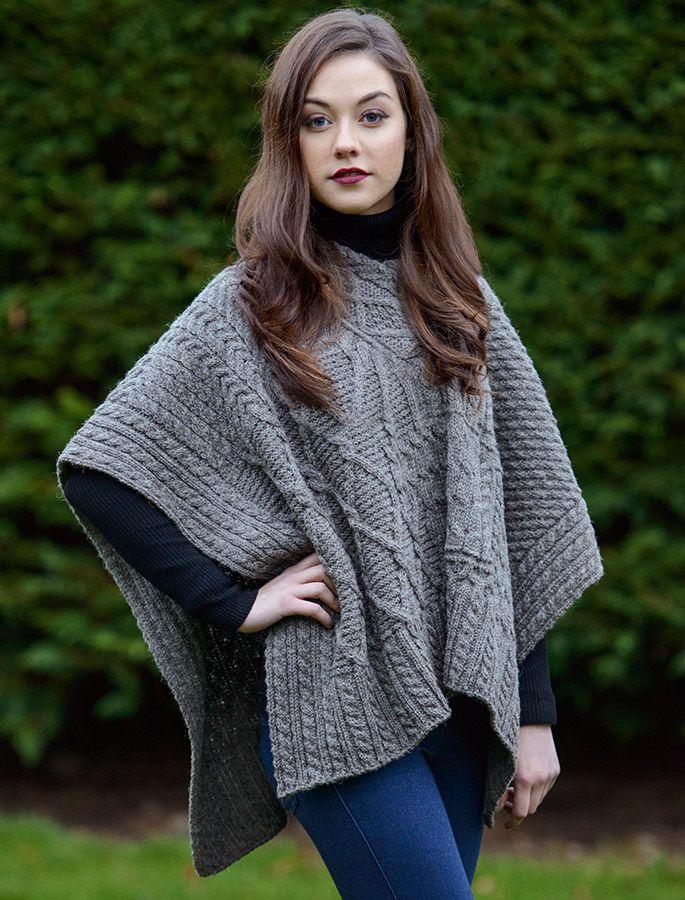 Women/'s poncho in merino wool  wool cape  asymmetrical cape  women/'s hood
