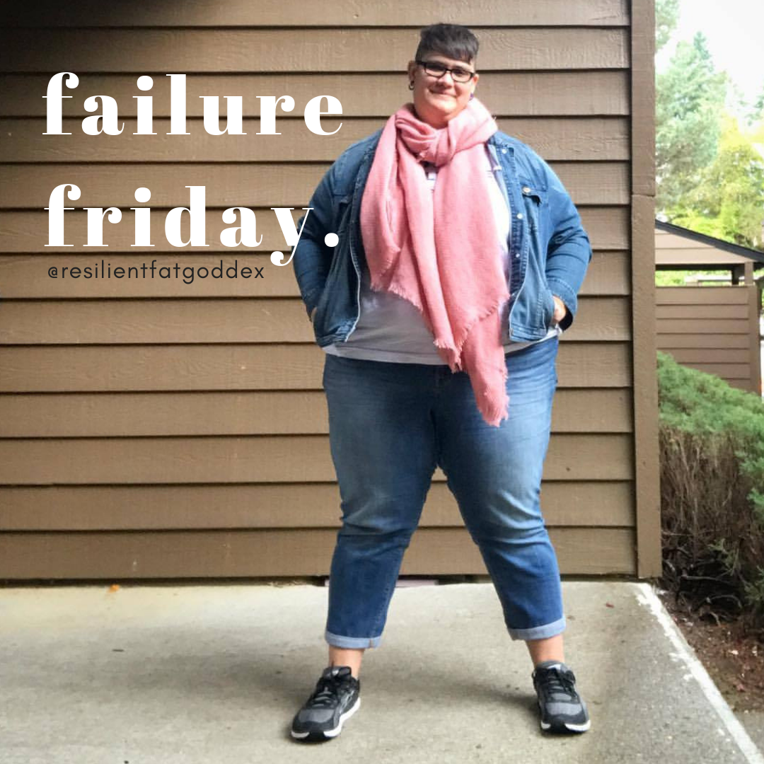 This Week's Failures: 1. I Failed At Taking A Day Off This
