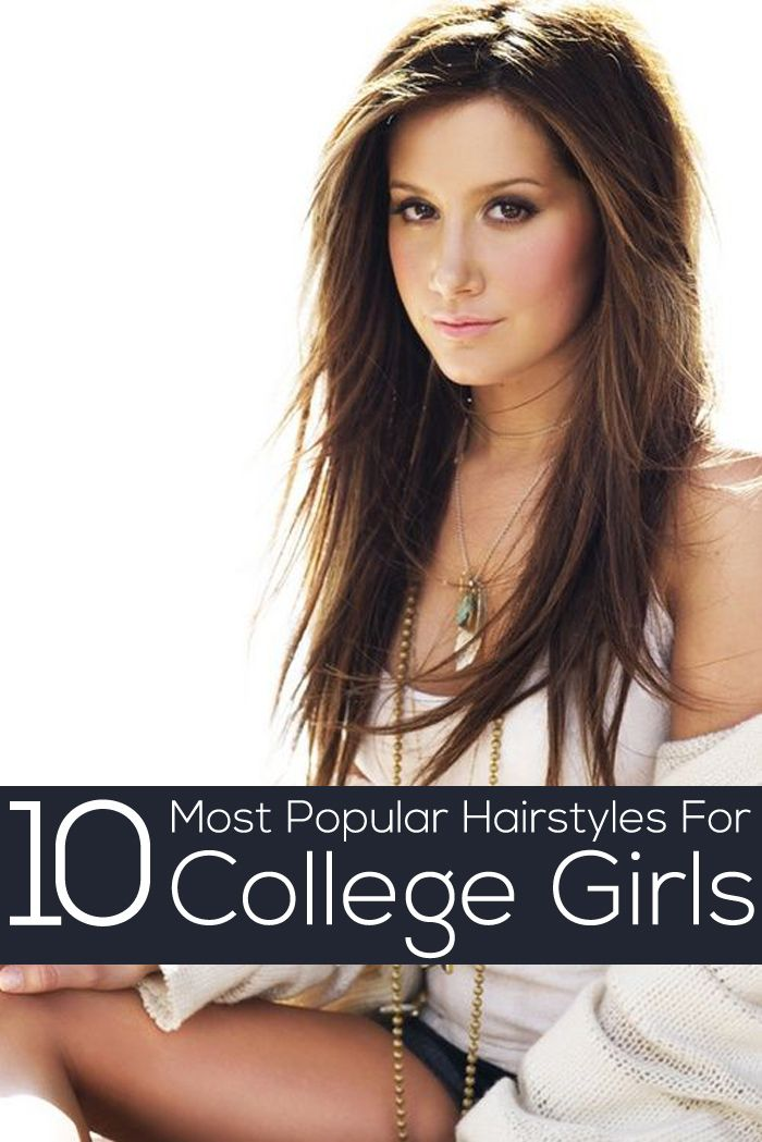 50 Most Popular College Girls Hairstyles | Long Hairstyles ...