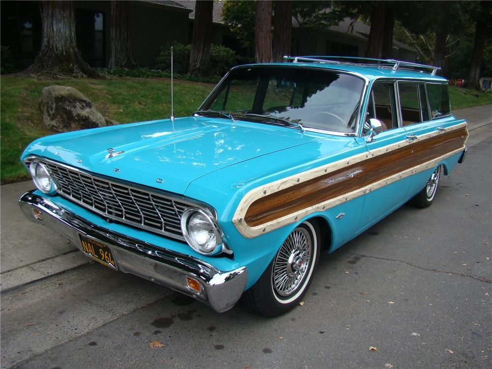 1964 Ford Falcon Woody Wagon With Images Ford Falcon Station