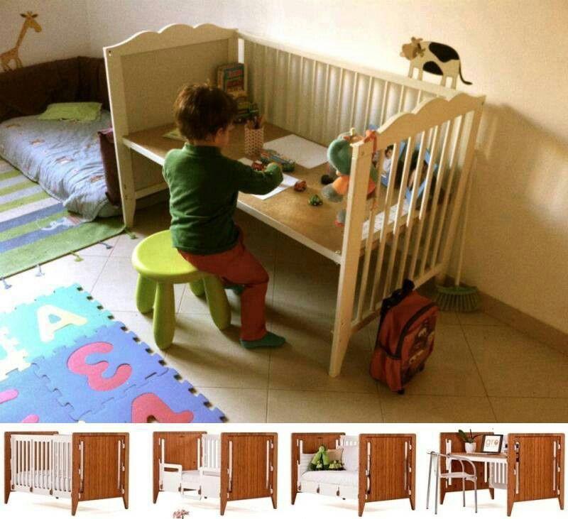 Crib Repurpose Fabulous Idea Lettino Idee Decoupage Mobili