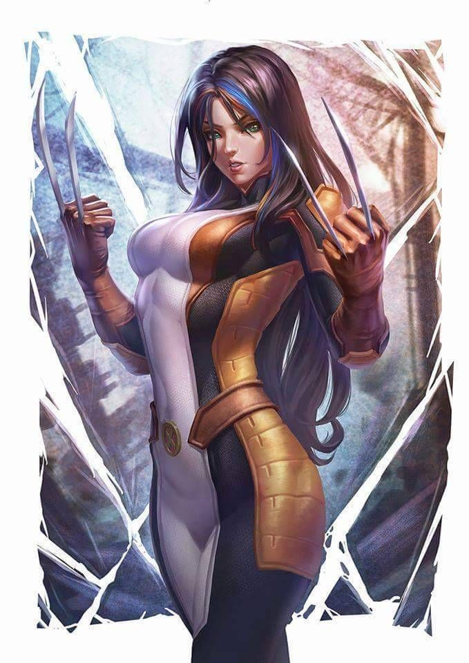 X23, X-Men fan Art, Digital Painting, Inspirational Art ... #digitalpainting #art #xmen | Marvel comics art, Marvel girls, Marvel