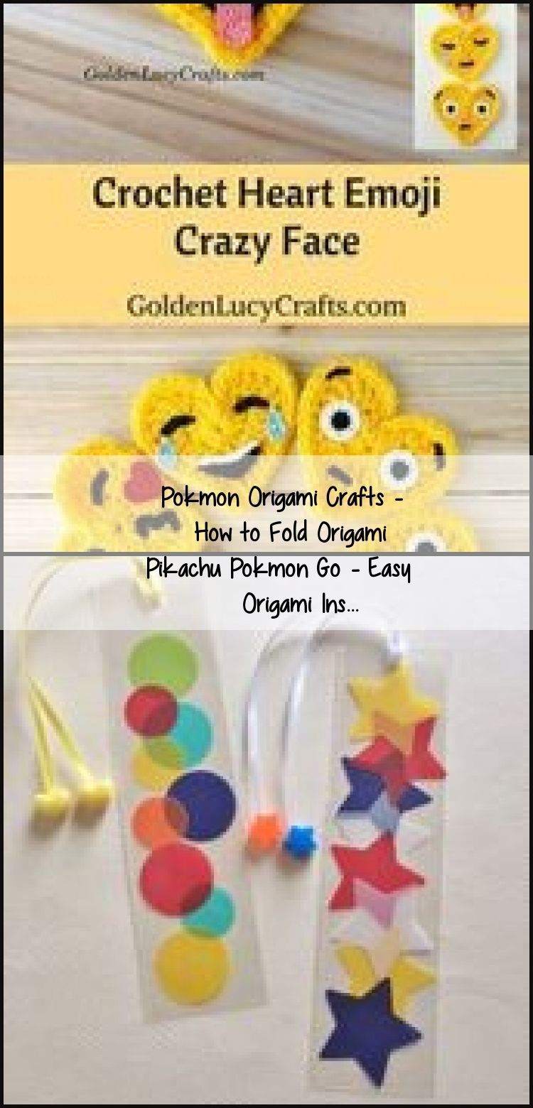 Photo of Pokmon Origami Crafts – Wie man Origami Pikachu Pokmon Go faltet – Einfache Origami Ins …, #diyeas …