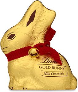 This Lindt Milk Chocolate Gold Bunny 100g Is On Special