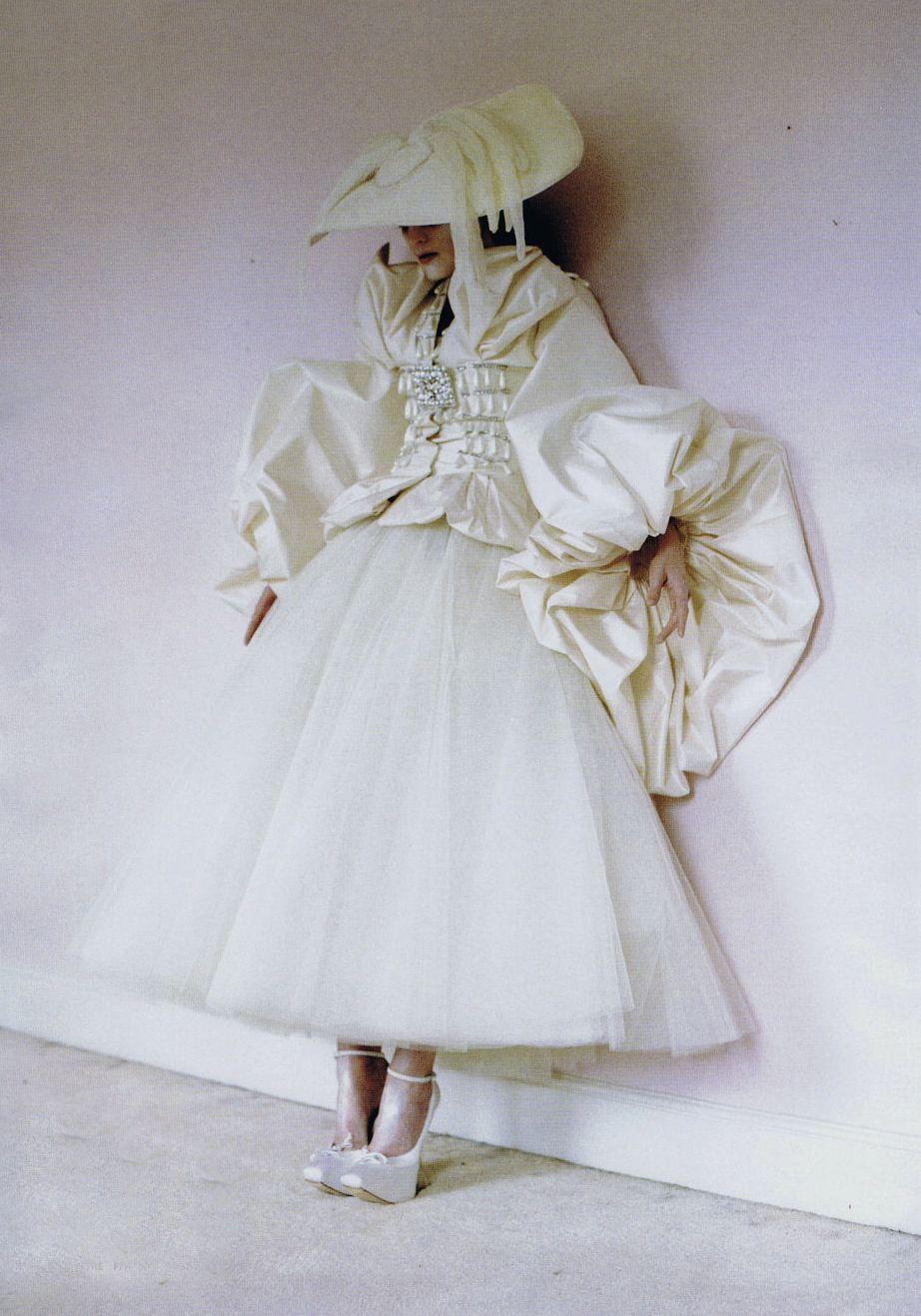 Guinevere van Seenus in Vogue Italia March 2011 by Tim Walker