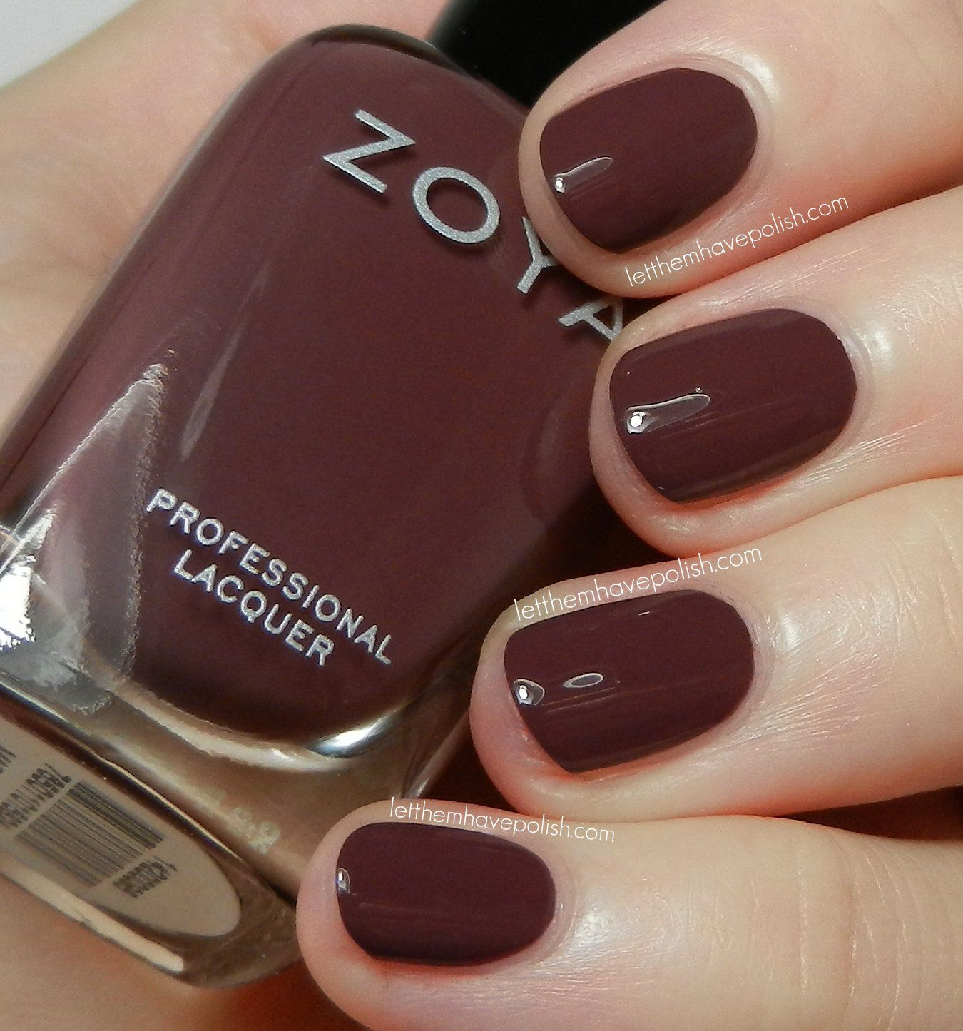 Zoya Marnie Marsala Nail Polish | PANTONE Color Of The Year ...