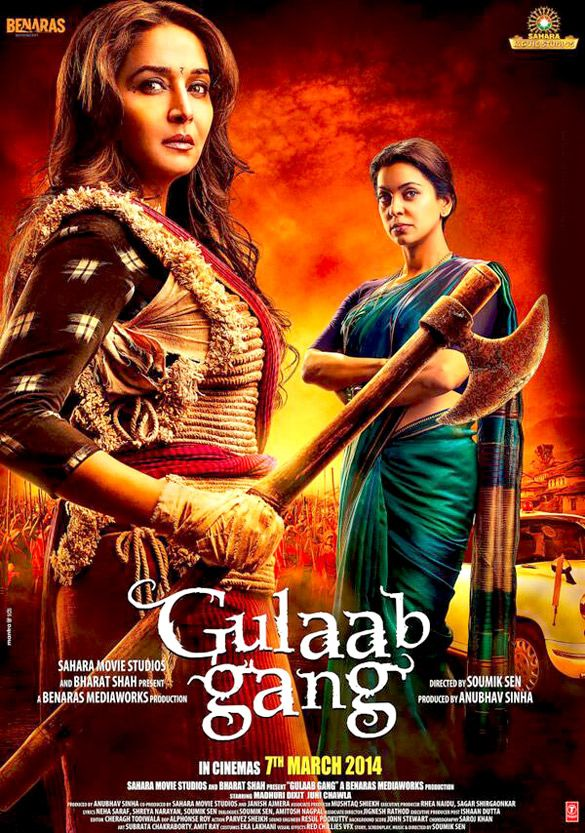 Fresh Up Guys: Gulaab Gang (2014) DVDSCR-Rip Indian Movie Torrent.