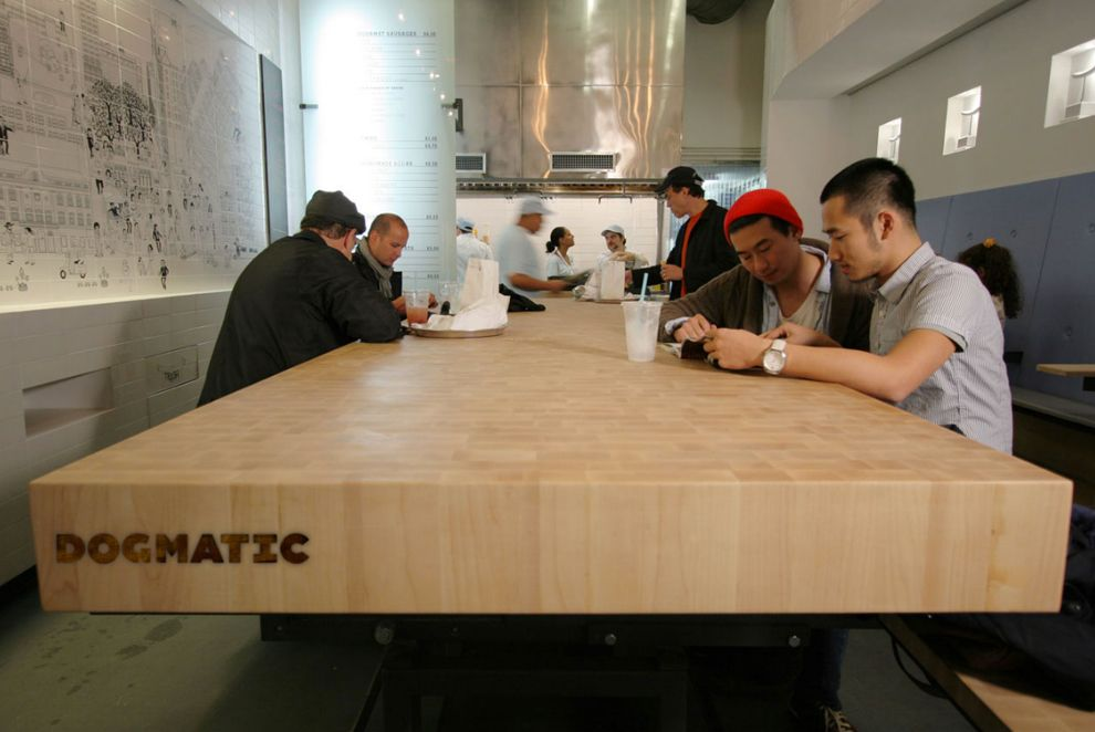 Dogmatic Restaurant / EFGH Studio   Design d'espace